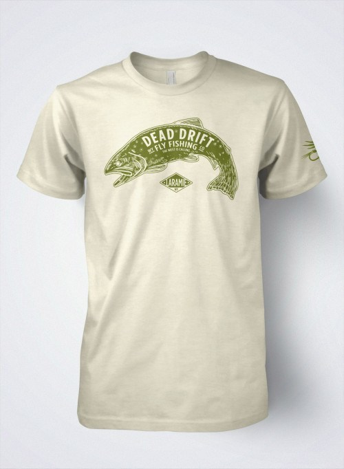 T Shirts For Men From Dead Drift Fly Company Gear Cloud