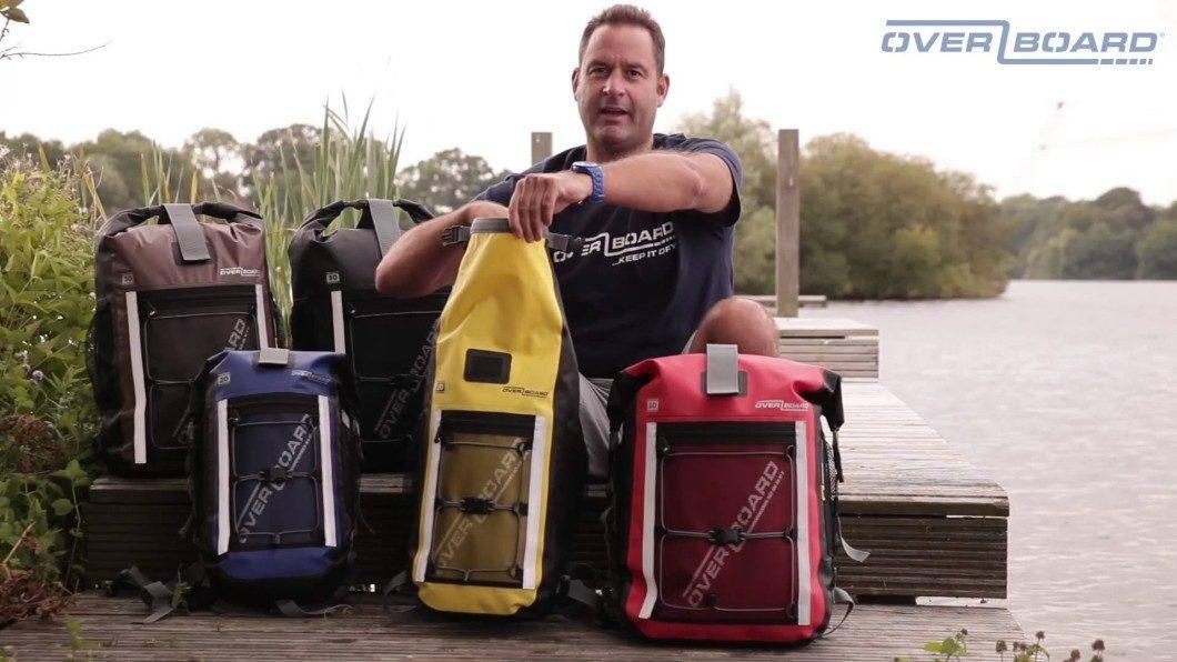 OverBoard Waterproof Backpacks, Neither Rain Nor Snow…
