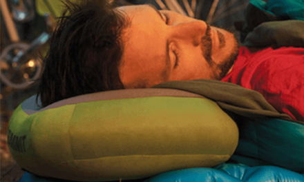 Sea to Summit Aeros Inflatable Camp Pillow That Feels Like Home