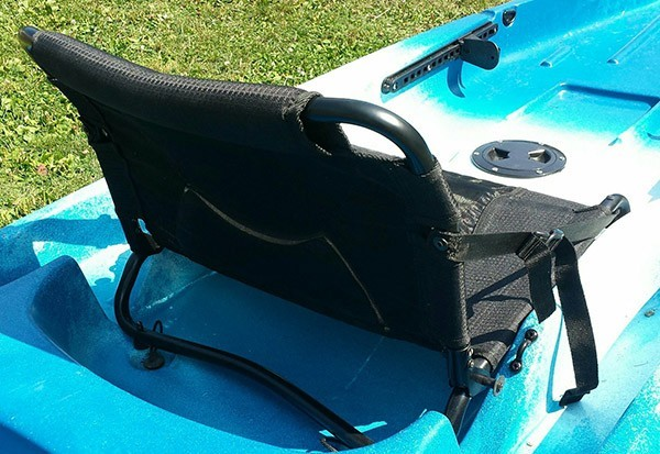 Ascend d10t kayak seat upgrade
