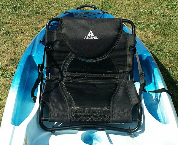 Ascend d10t kayak seat upgrade works