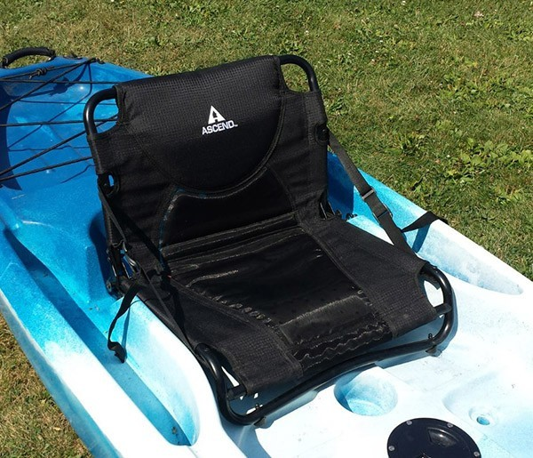 Diy Elevated Kayak Seat Do It Your Self