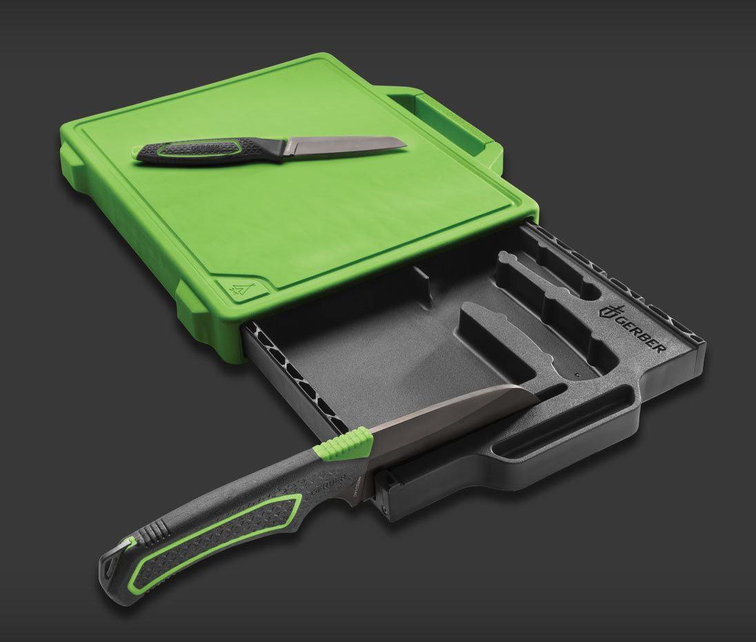gerber freescape camp kitchen knife set