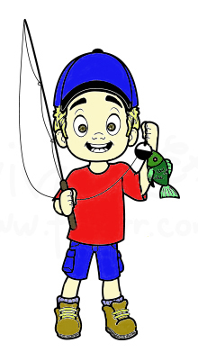 5 tips to catch fish with your kids