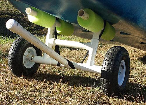 Inexpensive DIY Kayak Cart That Will Last Forever