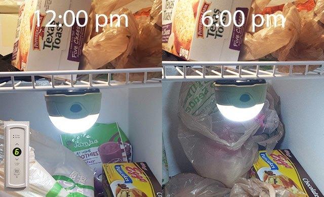 fenix cl20 freezer test
