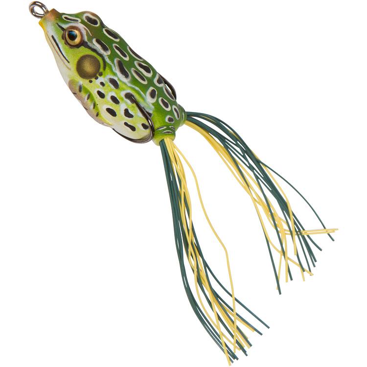 livetarget hollow body frog bass lures