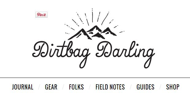 ten best outdoor blogs - dirtbagdarling.com