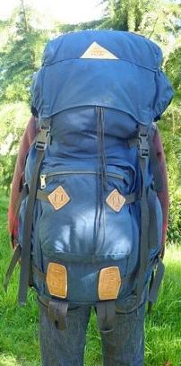 best ultralight backpacking gear - huge pack