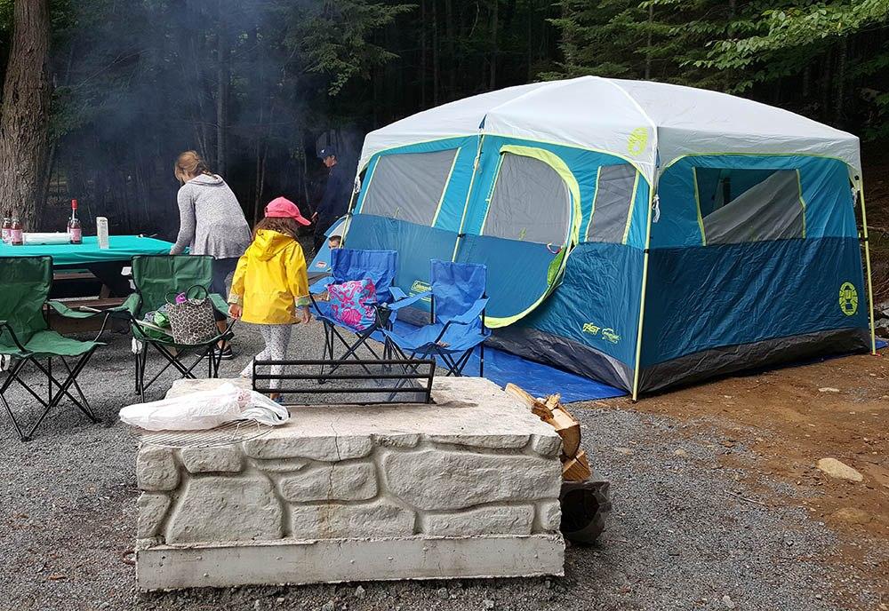 coleman lake tenaya tent