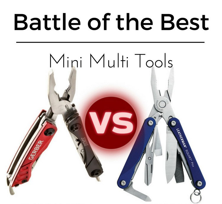 Gerber Dime vs Leatherman Squirt. Battle of the Mini Multi-Tools
