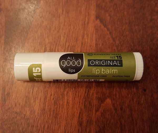 cairn box all good lip balm