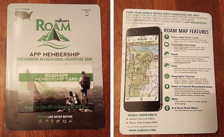 cairn box roam maps