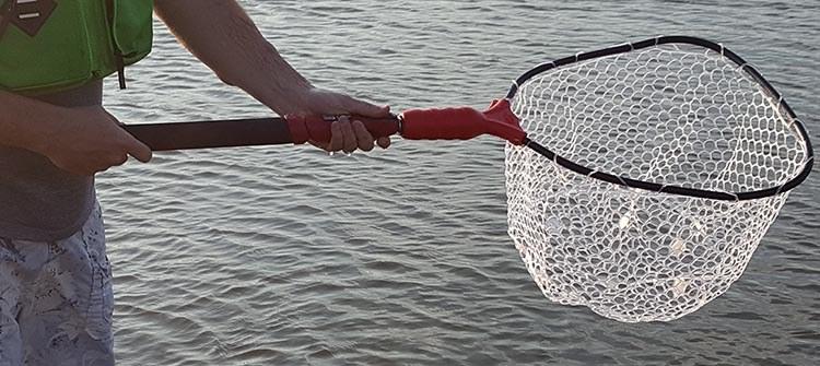 ego s2 slider extending kayak fishing net