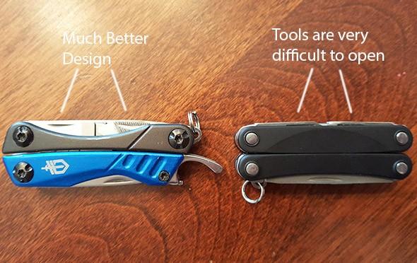 leatherman squirt mini multi-tool hard to open