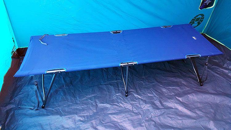 rei camp cot final setup