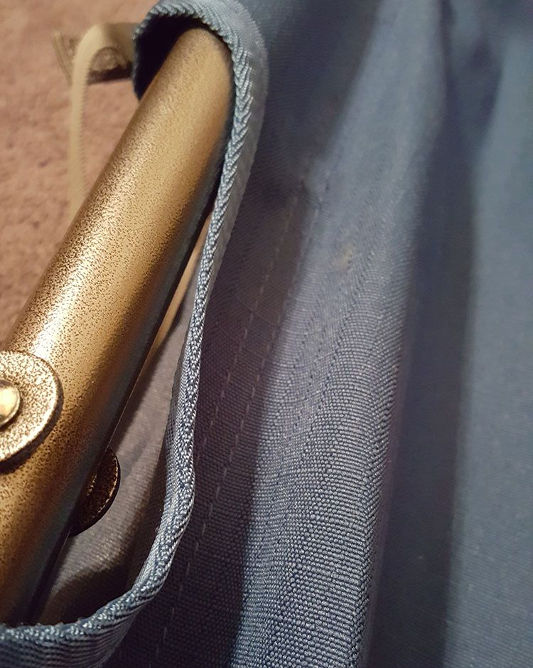 fabric on the rei camp folding cot