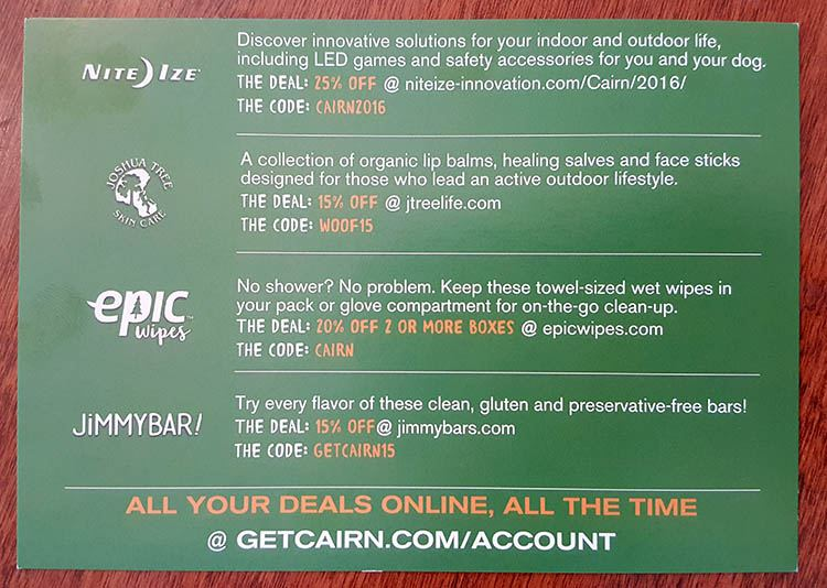 september cairn box coupons