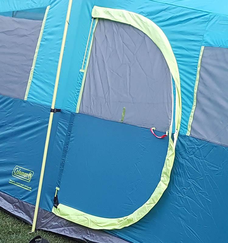 tent door detail