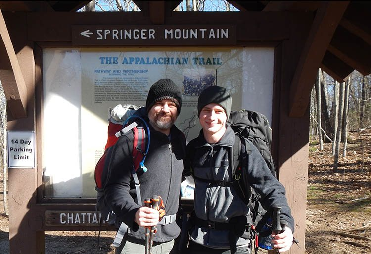 hiking the apallachian trail