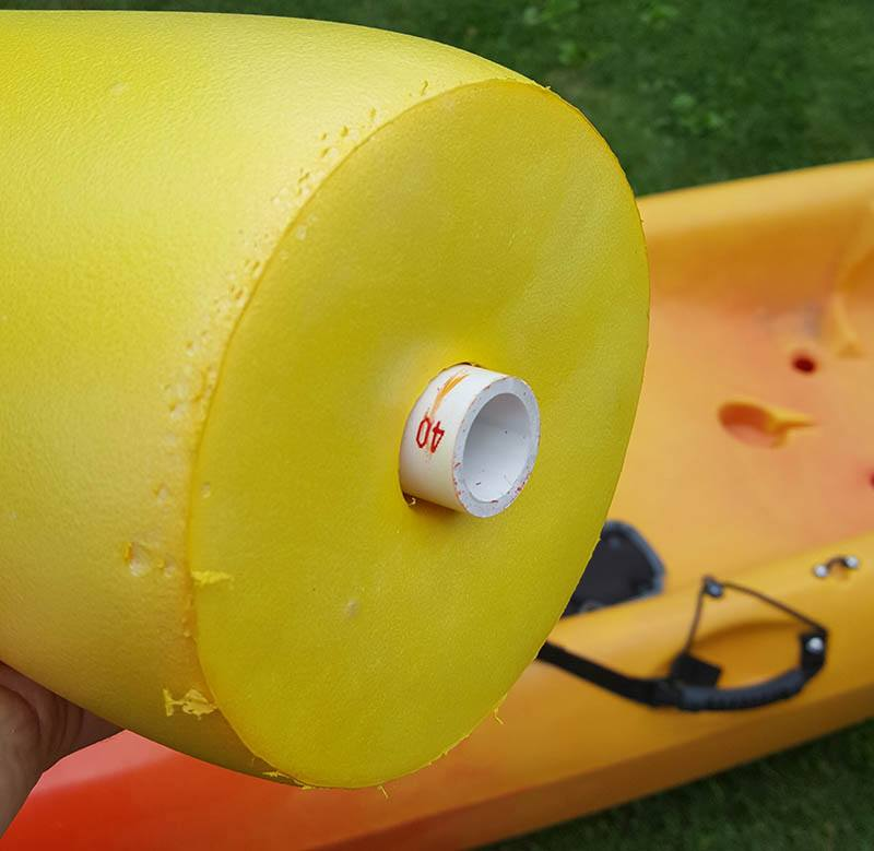 crab buoys for diy kayak outriggers