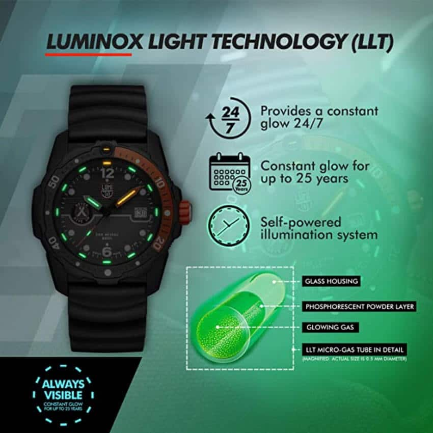 Bear Grylls Luminox 3729 Sea Series Watch features